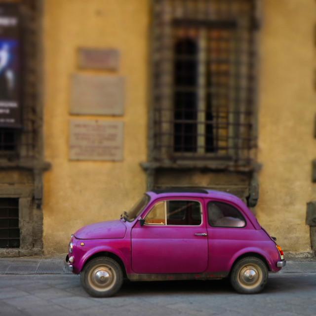 """""""Small Italian Car"""" stock image"""