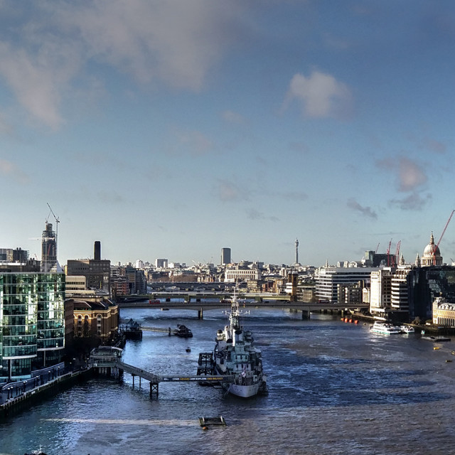 """London Panoramic Skyline"" stock image"