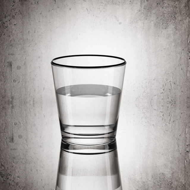 """""""glass of water"""" stock image"""