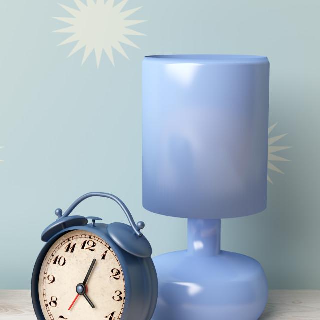 """alarm clock"" stock image"