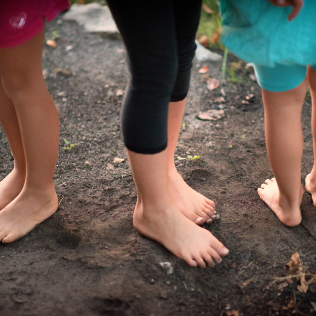 """Earthen Feet"" stock image"