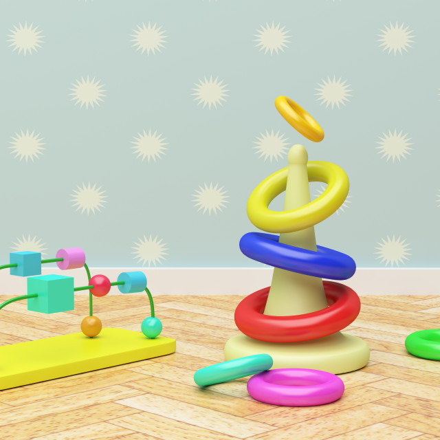 """""""baby games"""" stock image"""