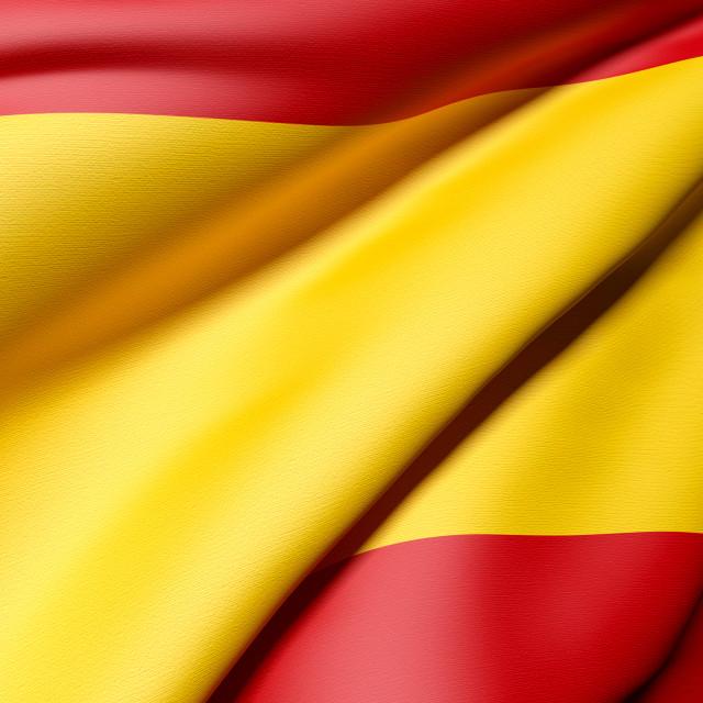 """""""Spain flag"""" stock image"""
