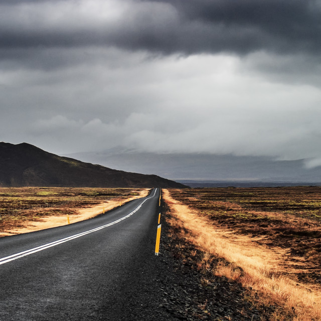 """""""Road to nowhere 1"""" stock image"""