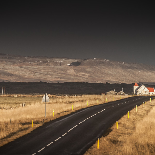 """""""Road to nowhere 4"""" stock image"""