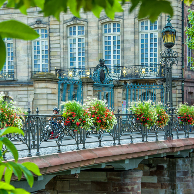 """Strasbourg street"" stock image"