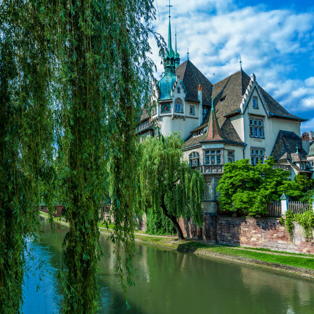 """""""House in Strasbourg"""" stock image"""