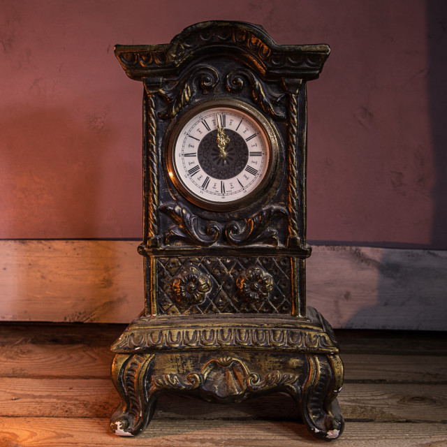 """antique clock"" stock image"