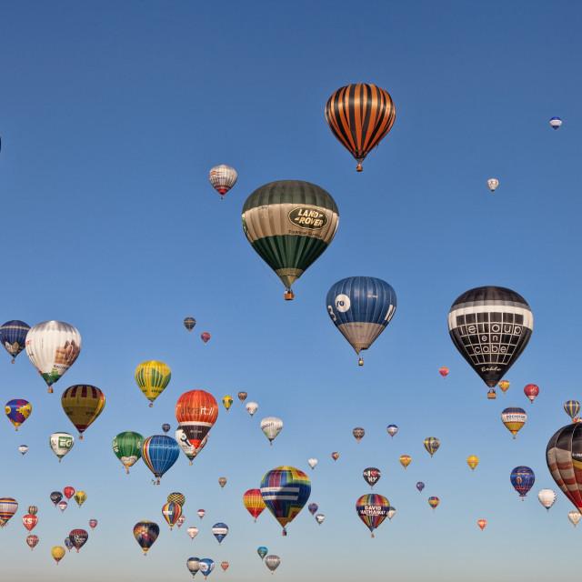 """""""Hot Air Balloons"""" stock image"""