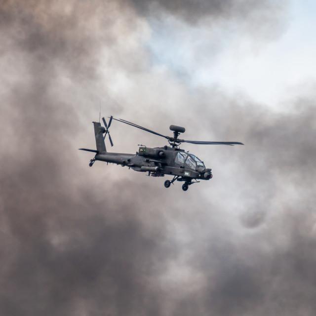 """WAH-64D Apache"" stock image"
