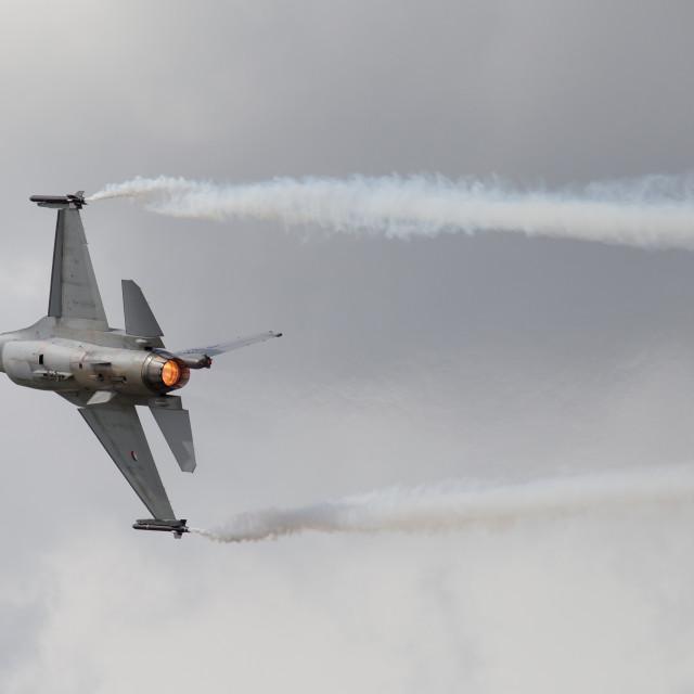 """F16 Fighting Falcon"" stock image"