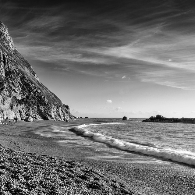 """Man O War Bay"" stock image"