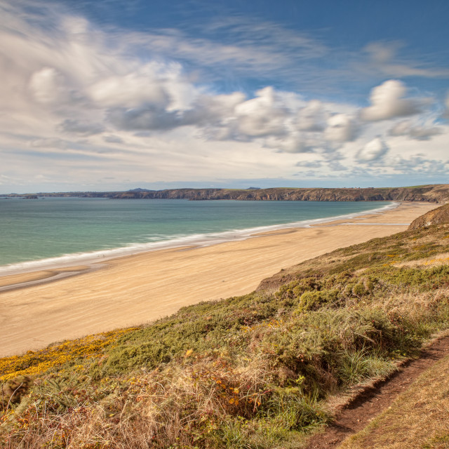"""Newgale Sands"" stock image"