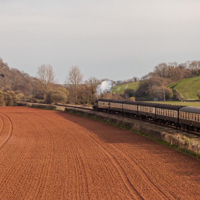 """GWR Large Prairie No 4160"" stock image"