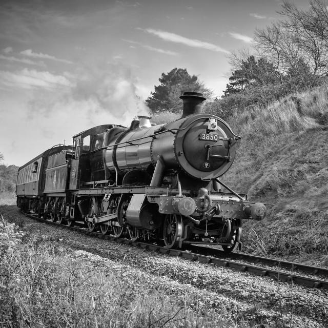 """GWR 2-8-0 No. 3850"" stock image"