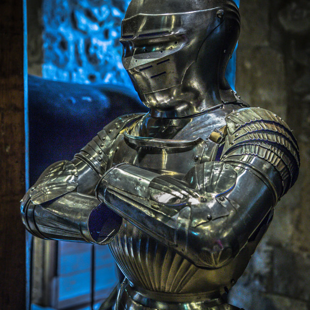 """Armour with atitude"" stock image"