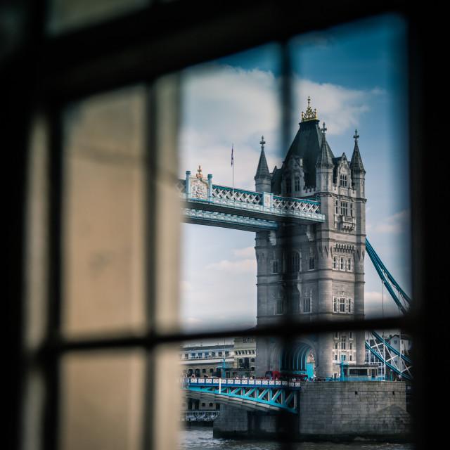 """Windowed Tower"" stock image"