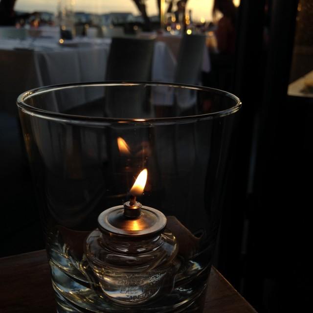 """Candlelight Romance"" stock image"