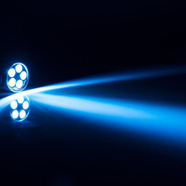 """LED torch light"" stock image"