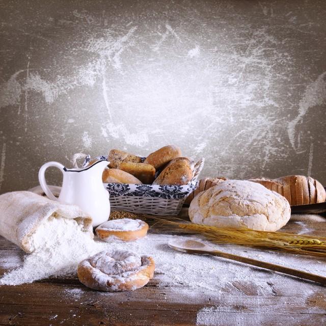"""""""Bakery."""" stock image"""