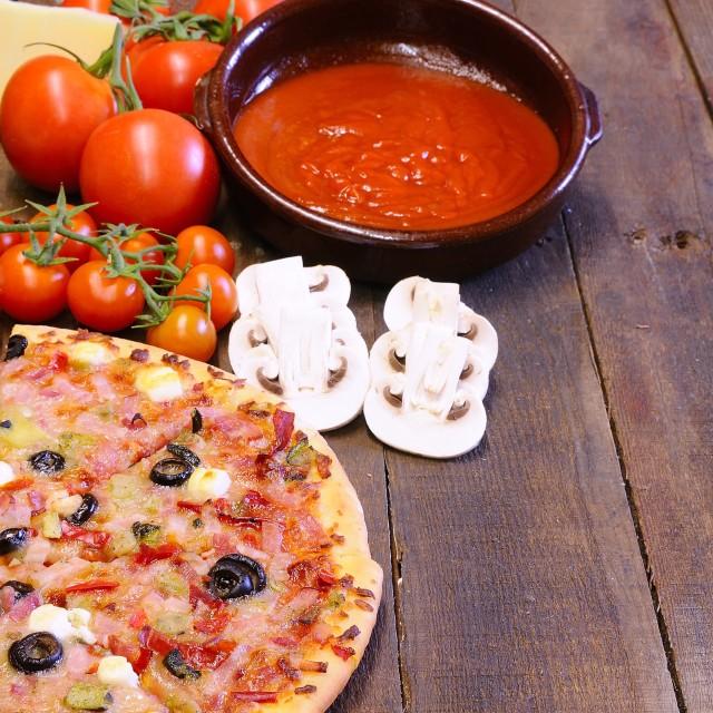 """Pizza."" stock image"