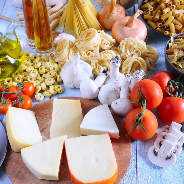 """Mediterranean ingredients."" stock image"