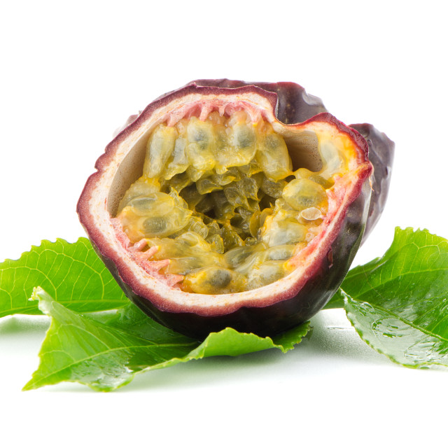 """Fresh passion fruit"" stock image"