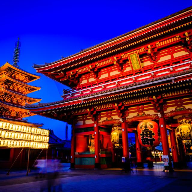 """""""Senso-ji shrine"""" stock image"""