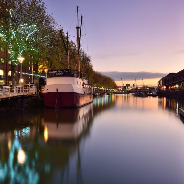 """Broad Quay Bristol"" stock image"