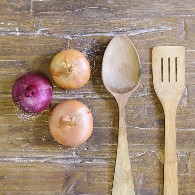 """Onions."" stock image"