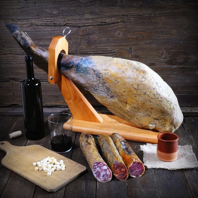 """Iberian ham."" stock image"