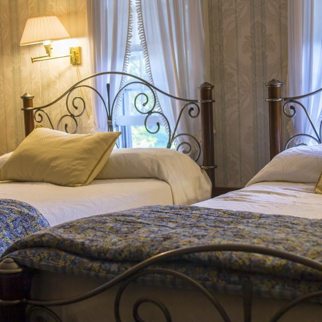 """Cosy bedroom"" stock image"