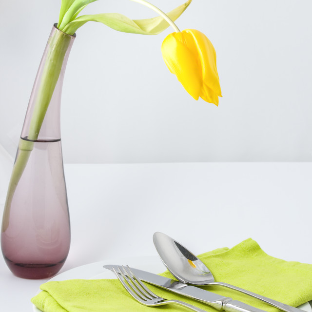 """""""Spring meal"""" stock image"""