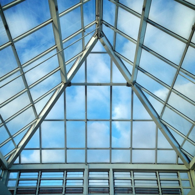 """Glass roof"" stock image"