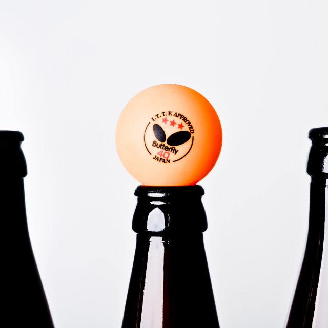 """""""Beer Pong"""" stock image"""