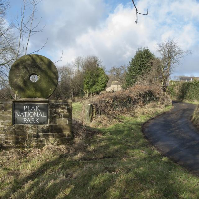 """Peak District National Park"" stock image"
