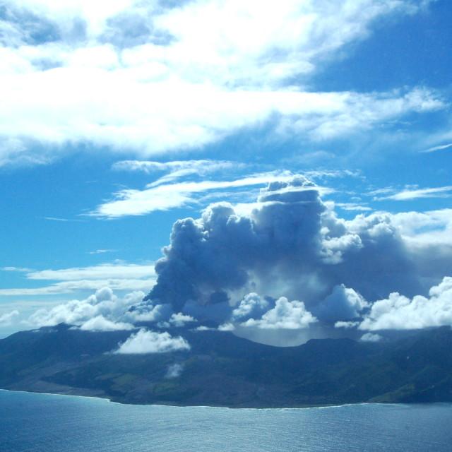 """""""Montserrat Volcano 2"""" stock image"""