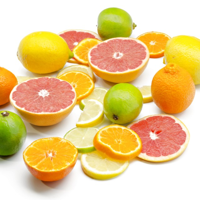 """Assortment of citrus"" stock image"