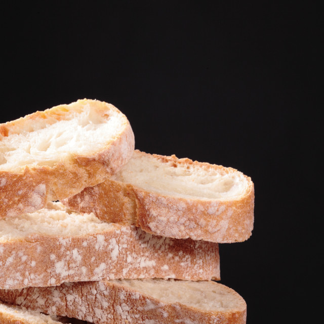 """""""slices of bread"""" stock image"""