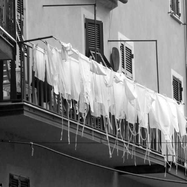 """Restaurant Washing Line"" stock image"
