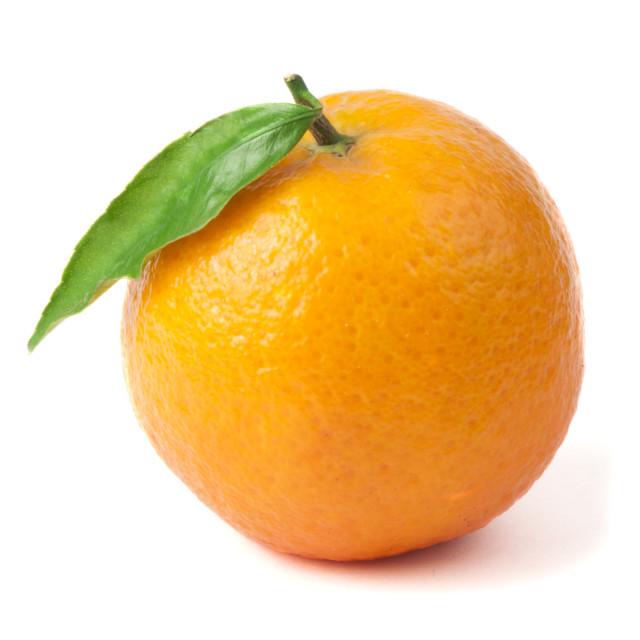 """""""Group mandarins white isolated studio shot"""" stock image"""