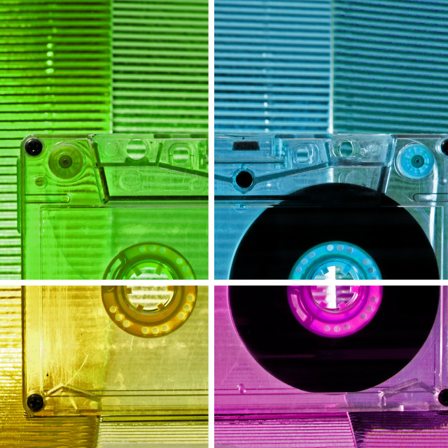 """""""Cassette tape"""" stock image"""