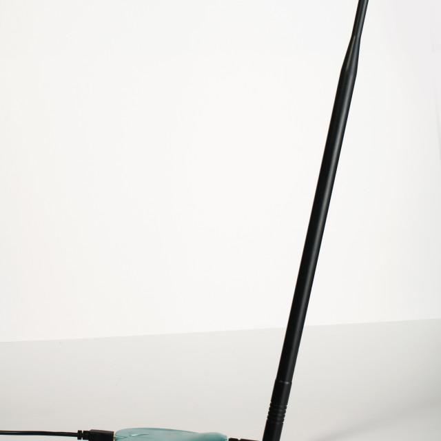 """Wireless antenna"" stock image"