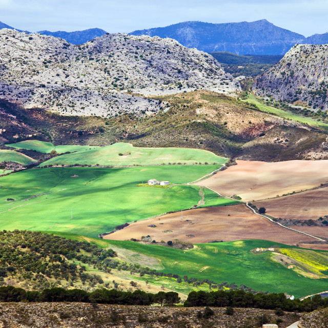 """Andalucia Landscape in Spain"" stock image"
