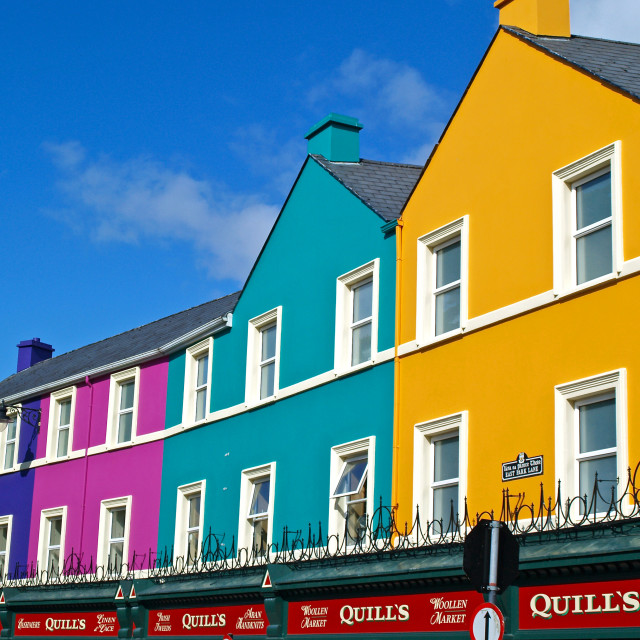 """Colours of Kenmare"" stock image"