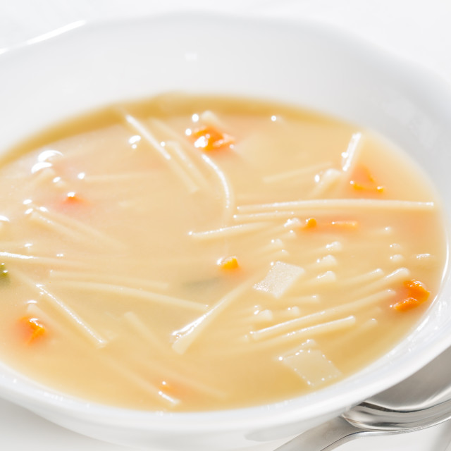 """Dish soup"" stock image"