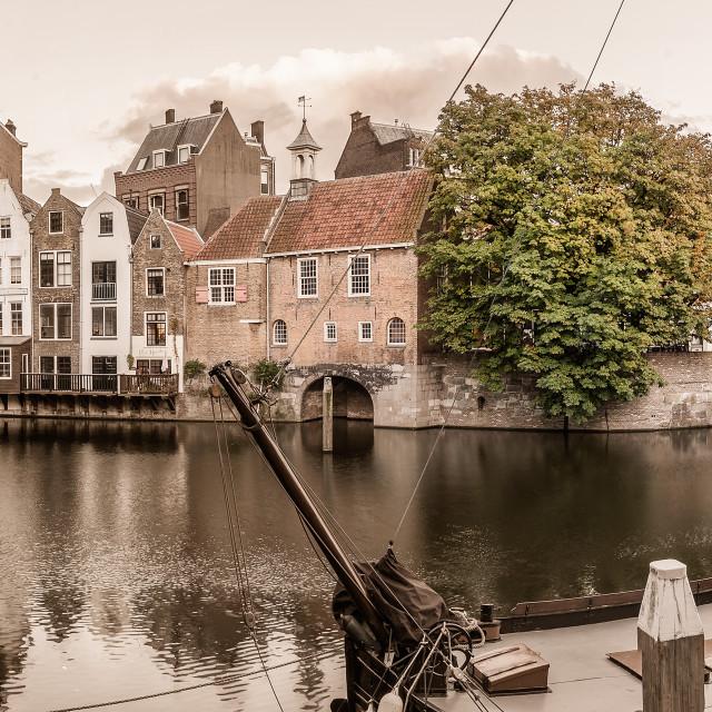 """Architecture in Rotterdam"" stock image"