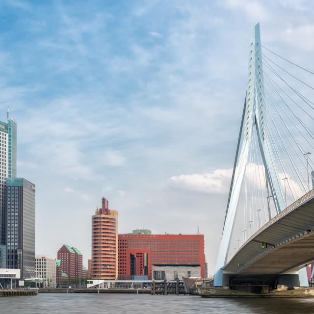 """Architecture in Rotterdam"" stock image"