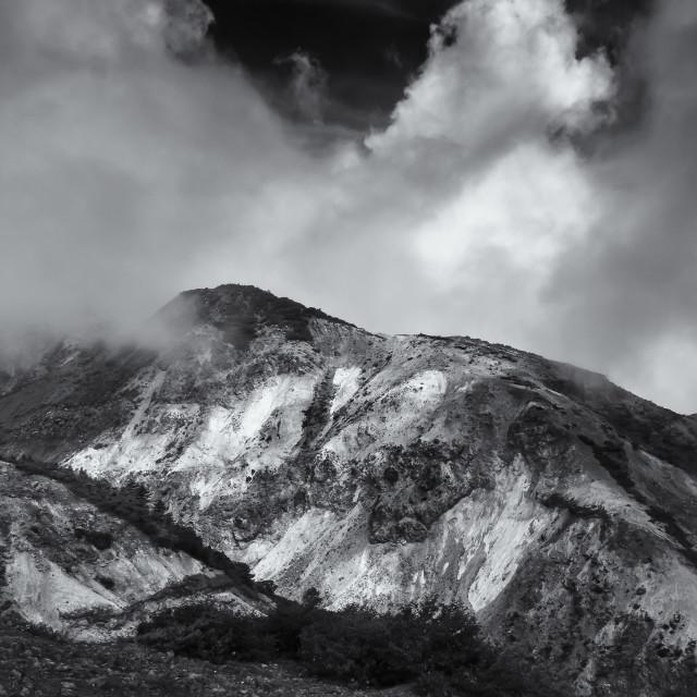 """Mountain Lumination"" stock image"