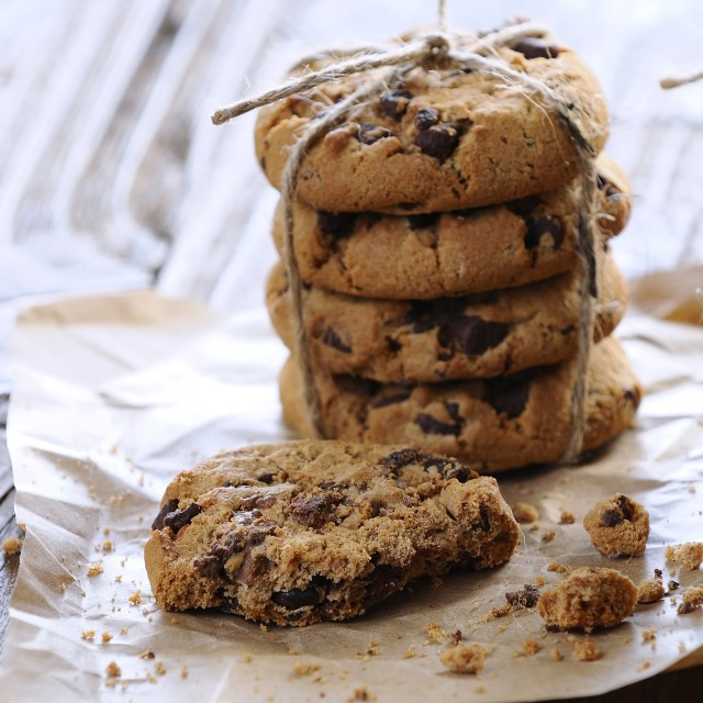 """Homemade cookies"" stock image"